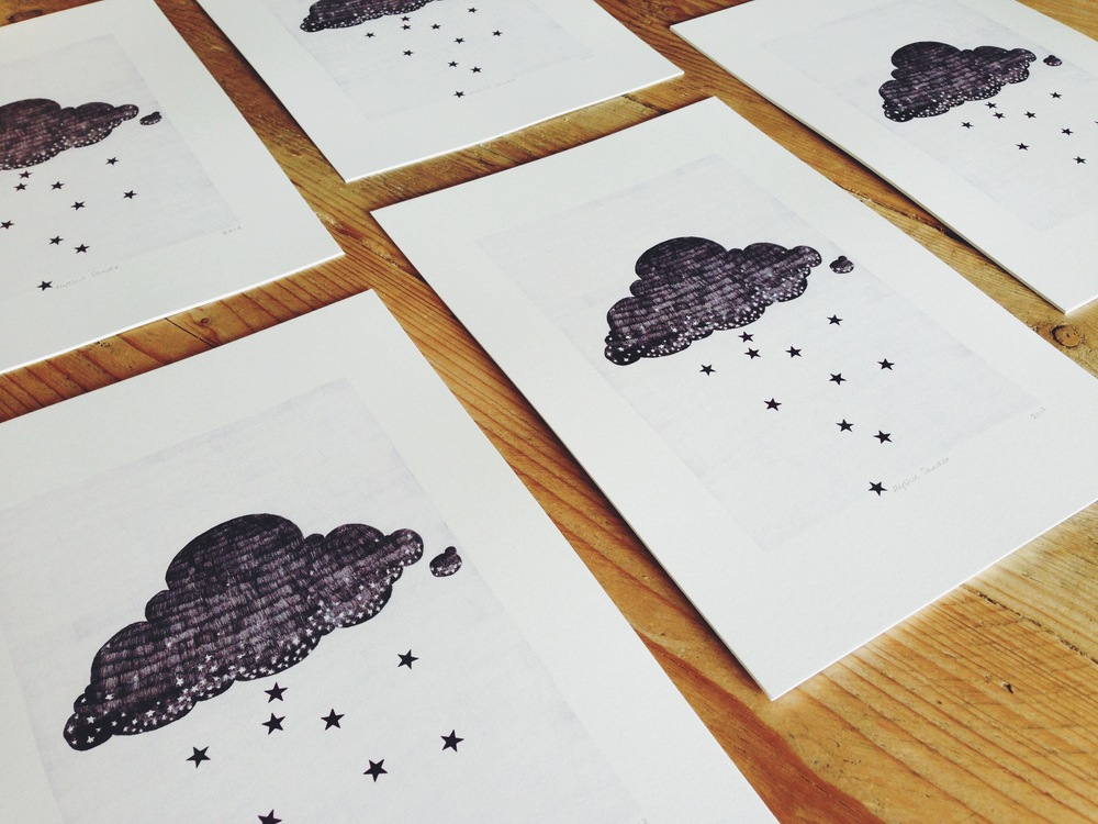 Stargazer cloud prints