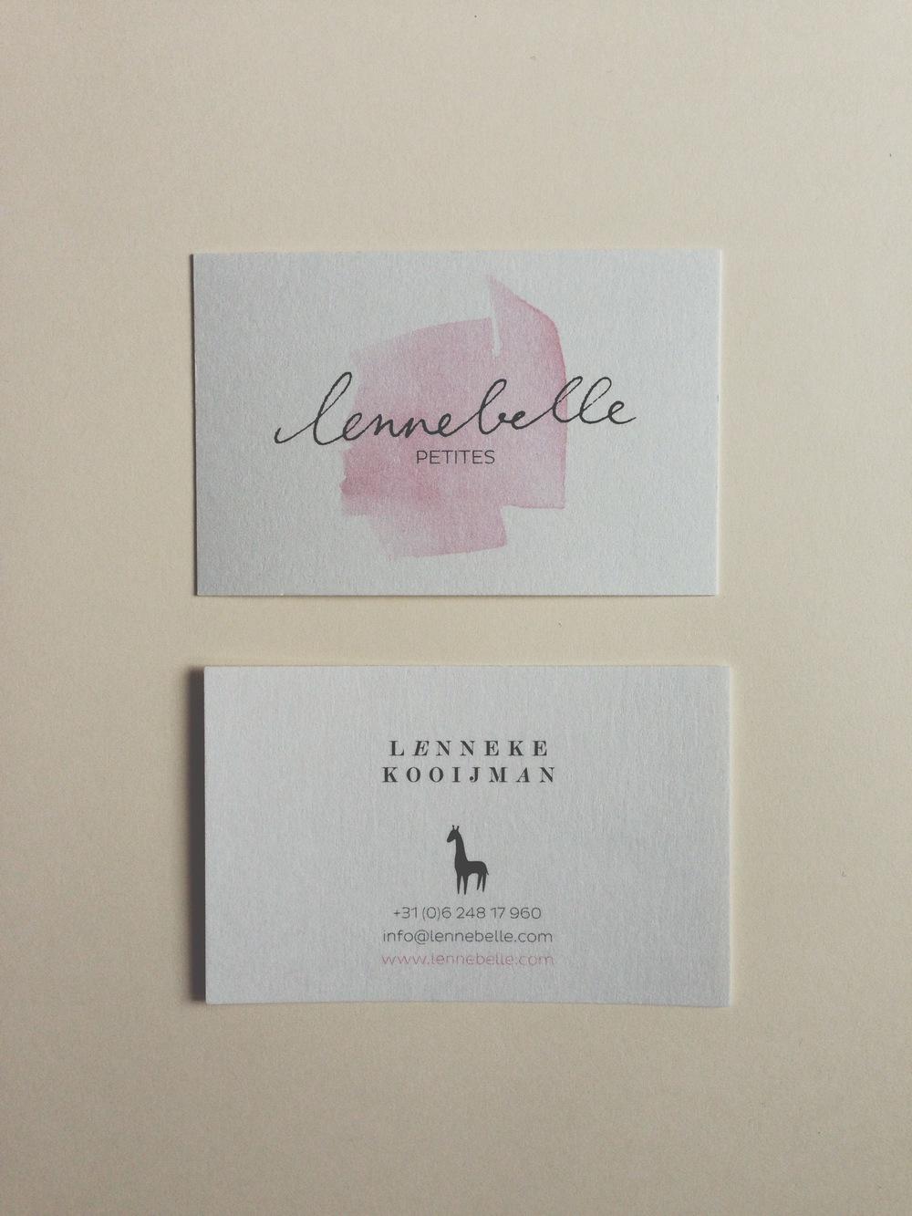 Lennebelle Petites graphic identity