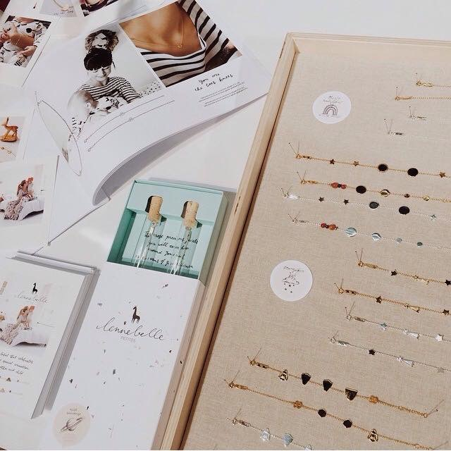 Lookbook, packaging, print work and jewelry.