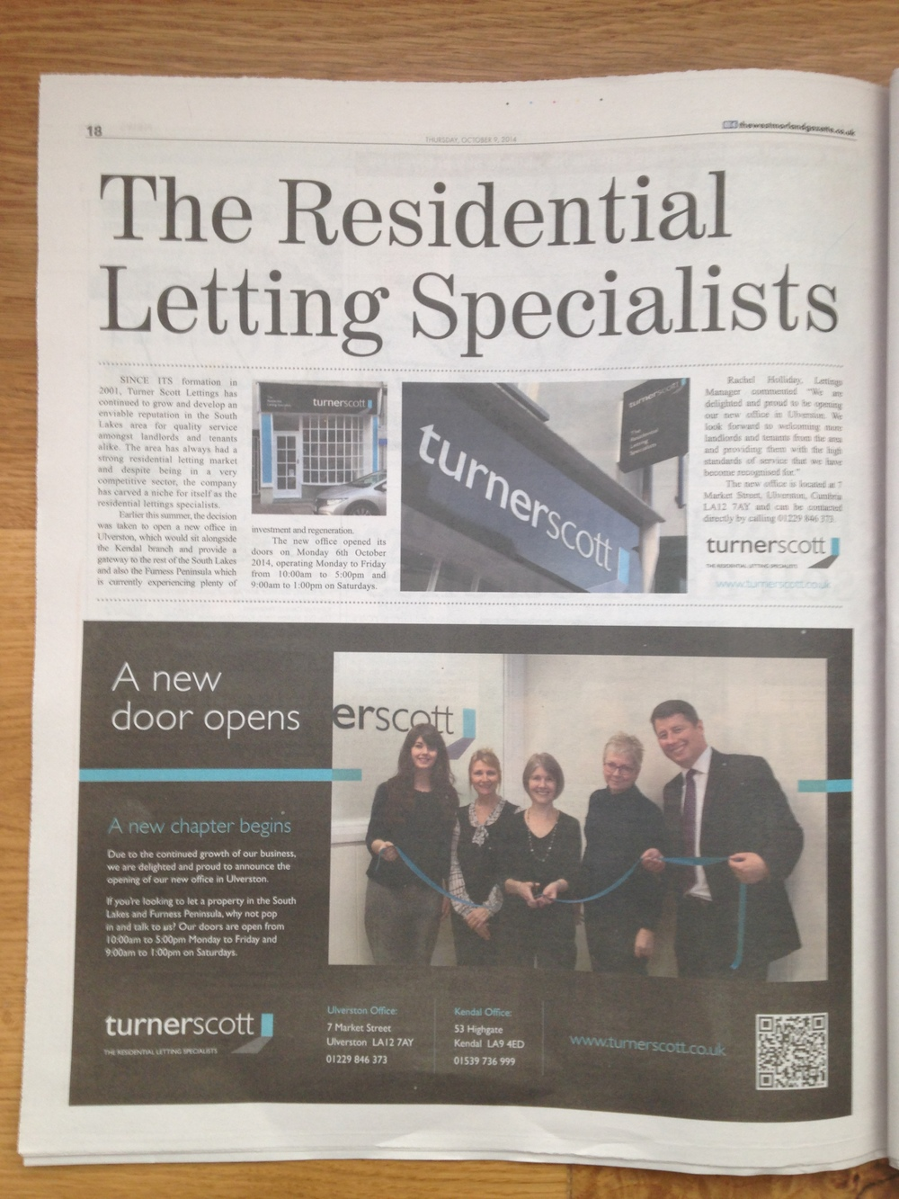 Turner Scott Residential Letting Specialists