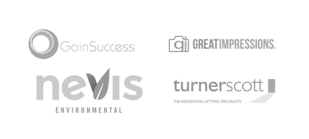 Gain Success ,  Great Impressions ,  Nevis Environmental .  Turner Scott Lettings