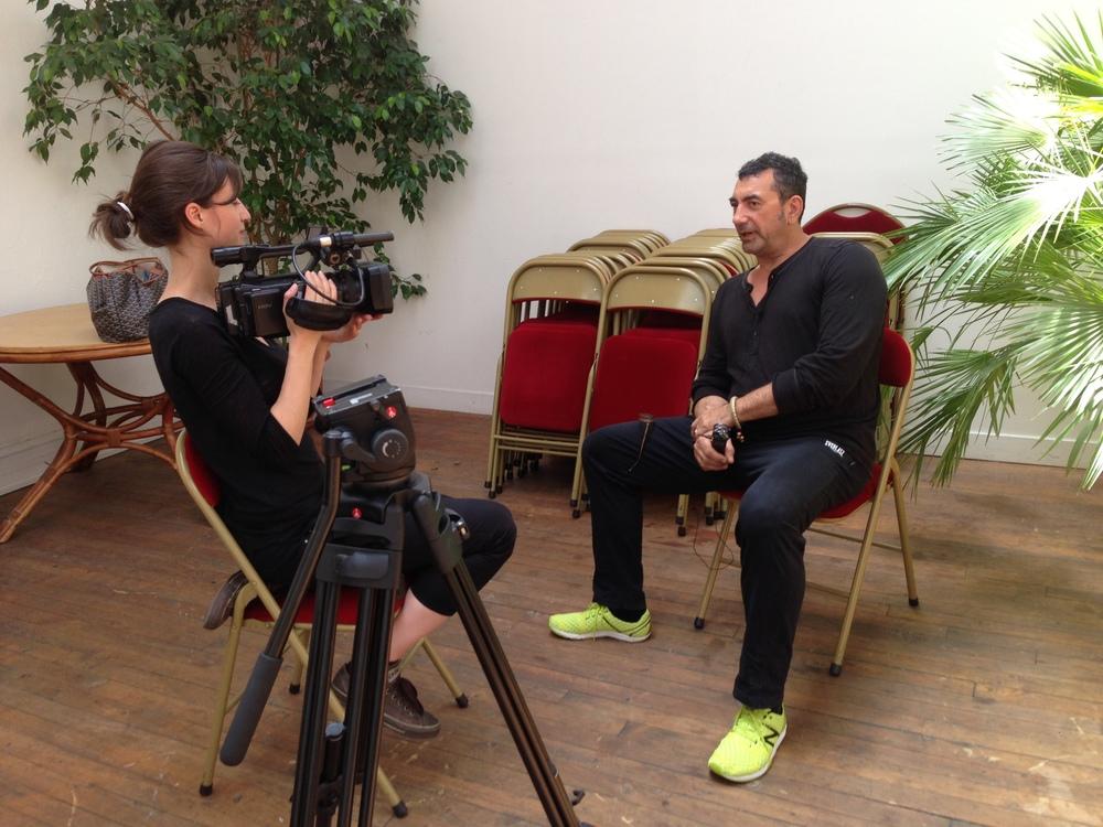 Laurence interview Michel Haillard pour collecter ses impressions sur le séminaire
