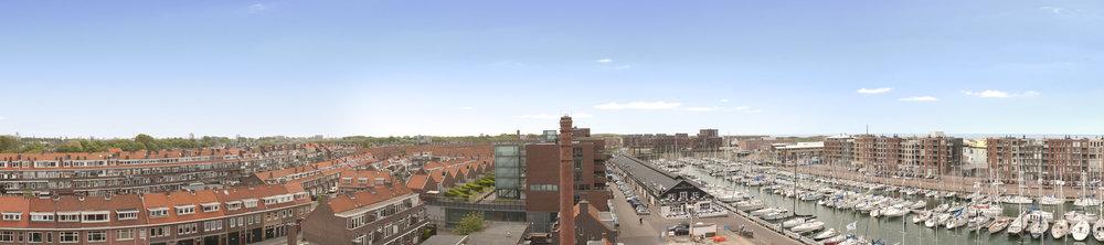 Scheveningen haven panorama