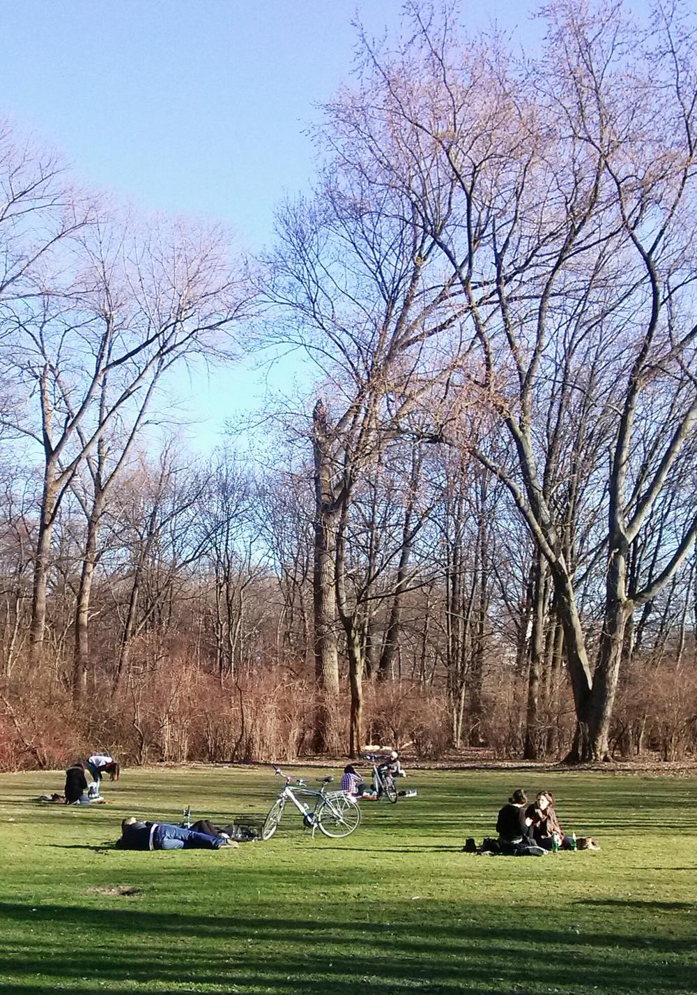 Άνθρωποι στο πάρκο ΙΙ