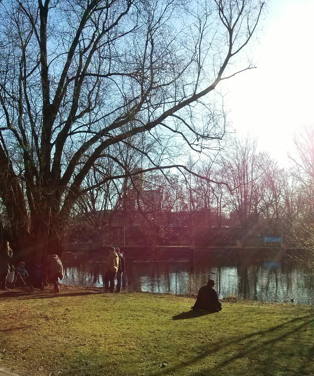 Άνθρωποι στο πάρκο Ι