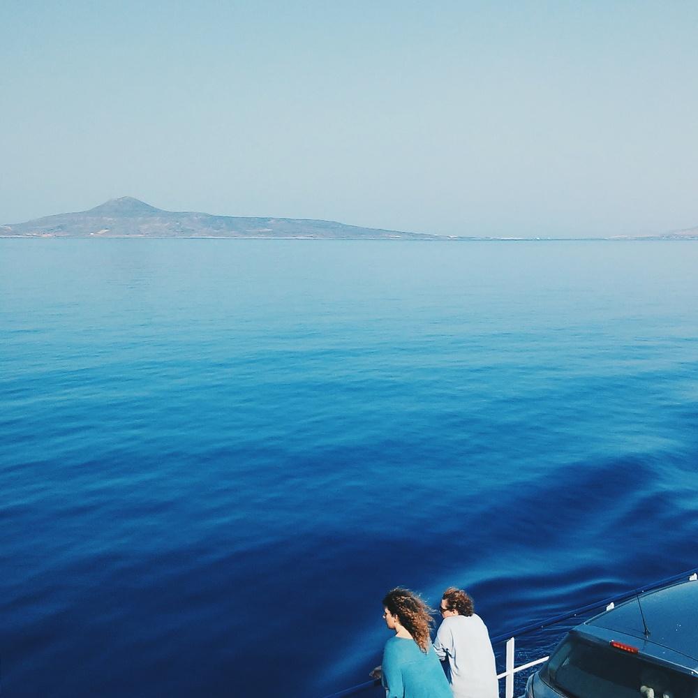 Στο πλοίο / On the ferry