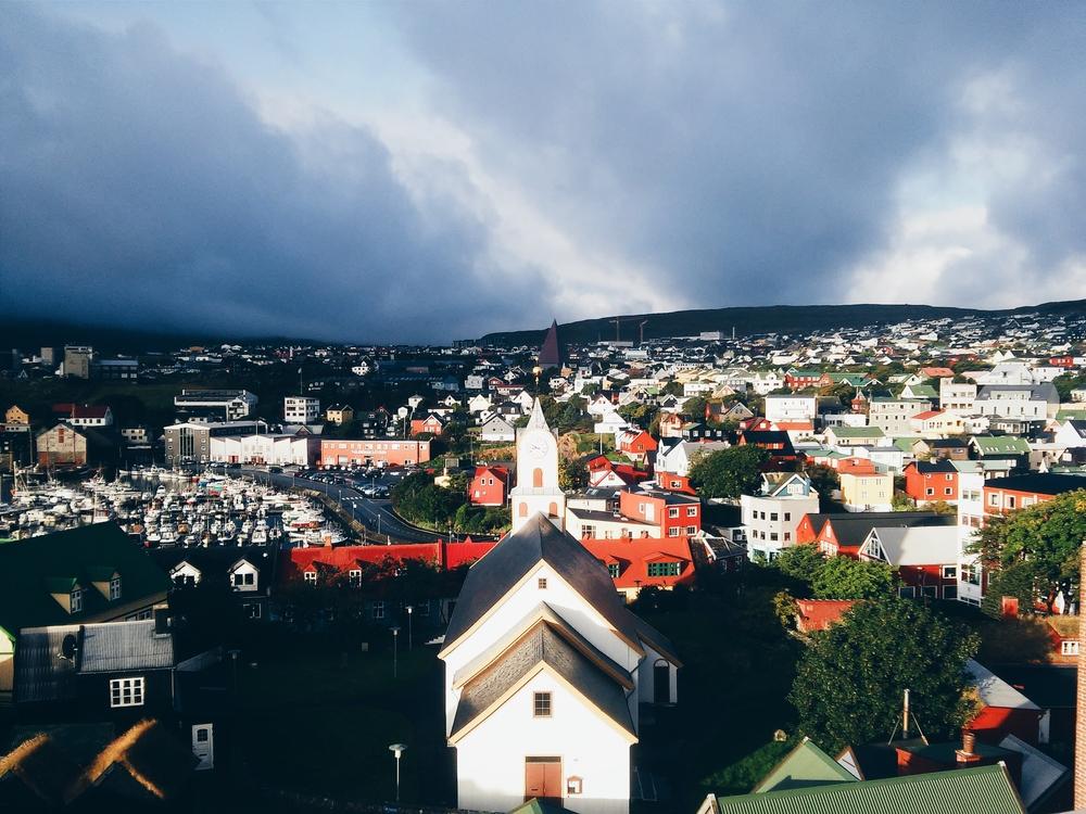 Πανοραμική θέα από το ξενοδοχείο Hafnia