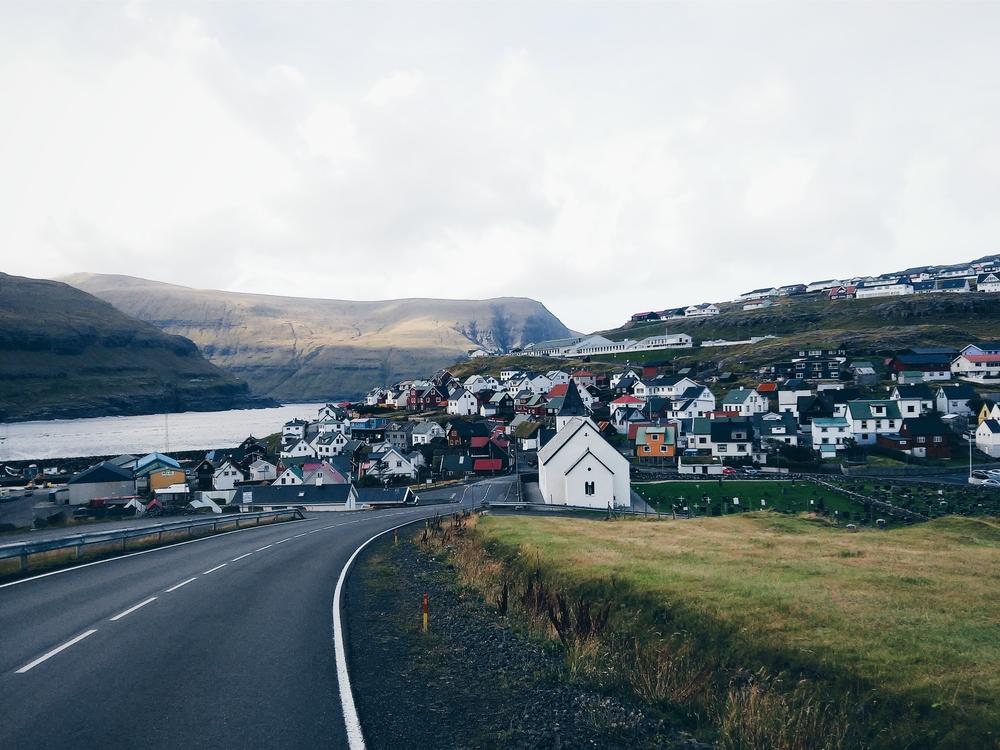 Φτάνοντας στο Eiði