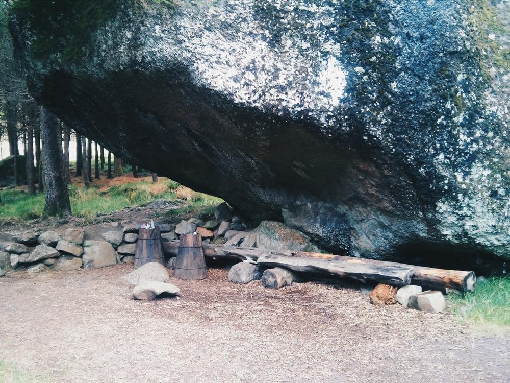 Ο βράχος για τον οποίο μιλούσε ο Χασάντι
