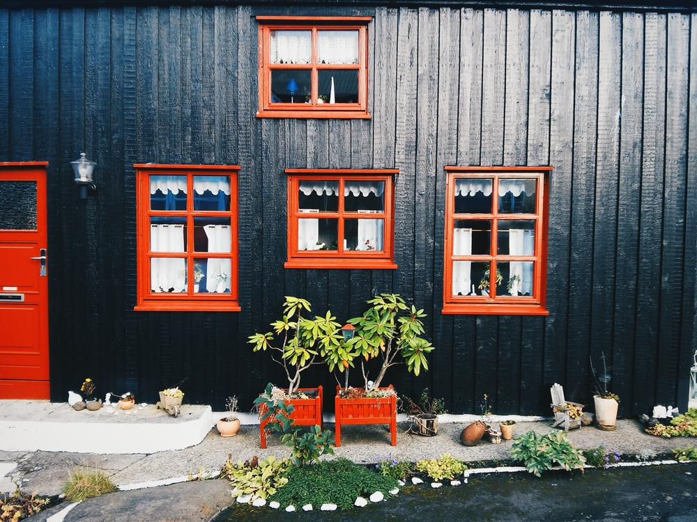 Τυπικό φεροέζικο σπίτι στην Τόρσαβν