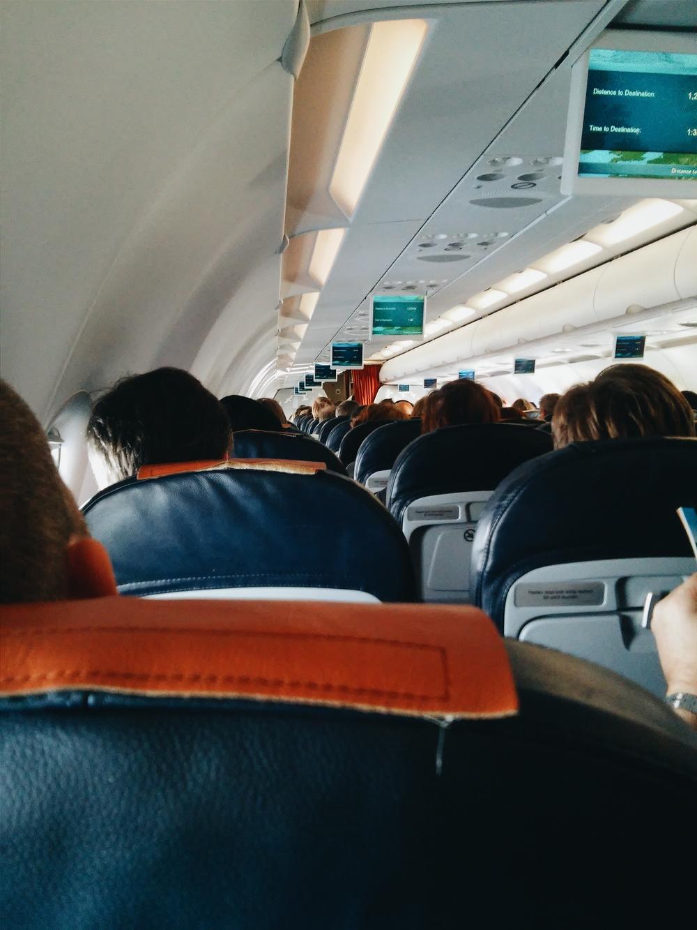 Στο αεροπλάνο
