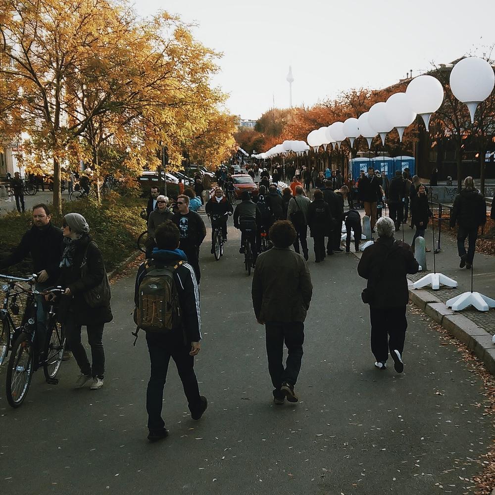 Στο δρόμο για το Mauerpark