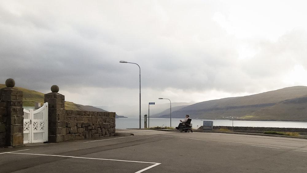Ο ηλικιωμένος στο Eiði