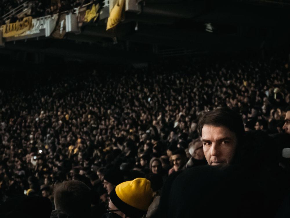 AEK-Dynamo Kyiv, Athens