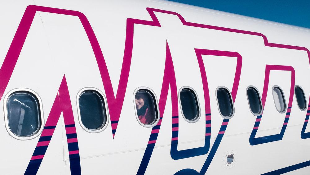 Το αεροπλάνο της WizzAir