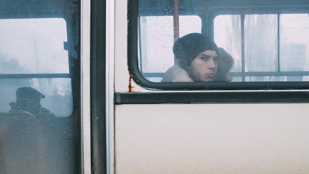 Πρόσωπο στο λεωφορείο 2