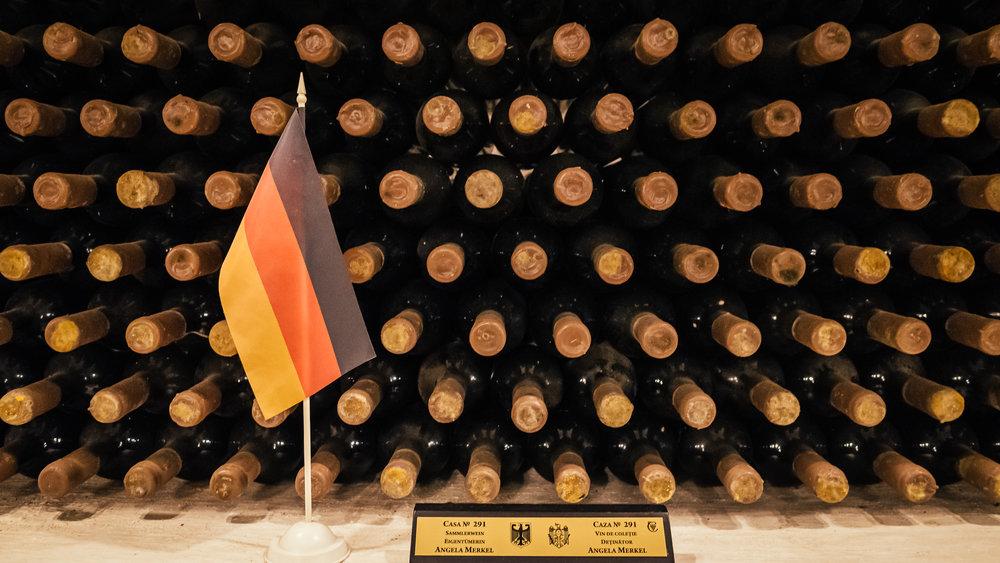 Το απόθεμα κρασιού της Άνγκελα Μέρκελ