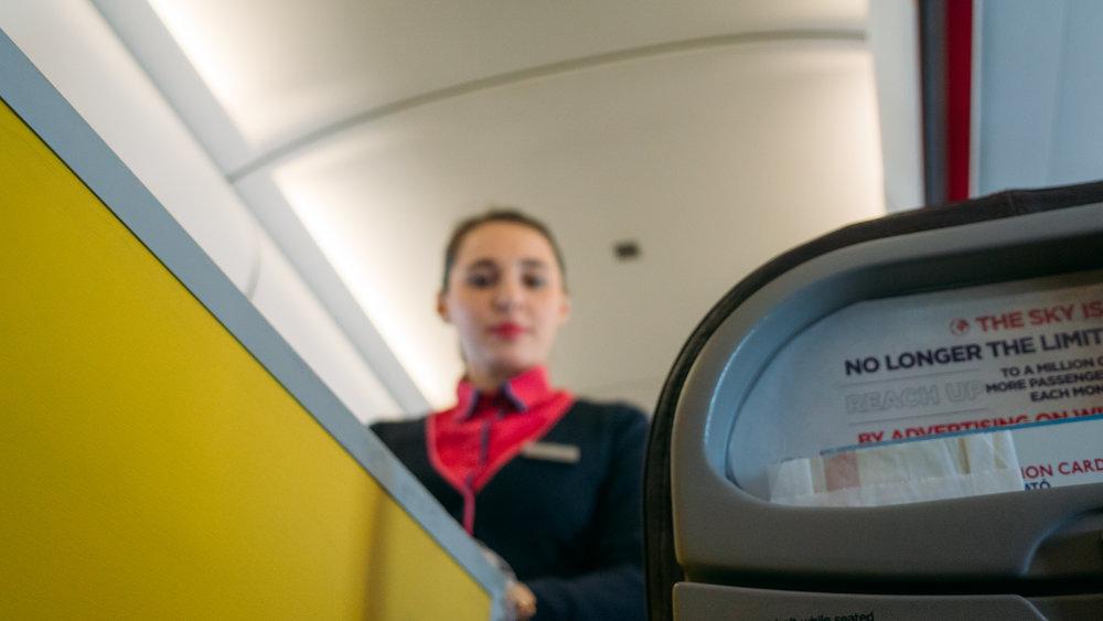Κατά τη διάρκεια της πτήσης