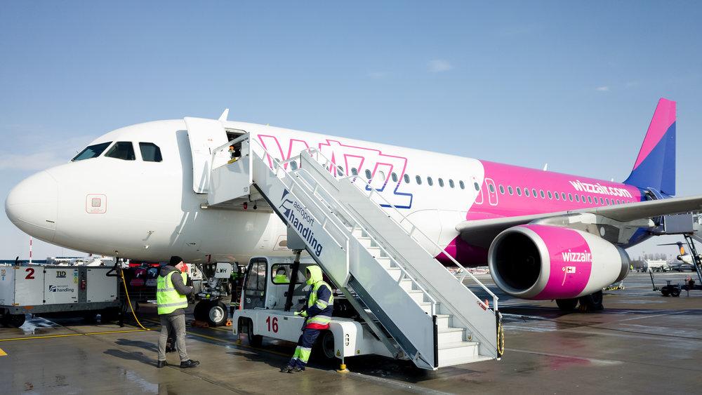 Το αεροπλάνο της Wizz Air