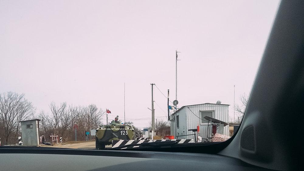 Στα σύνορα της Υπερδνειστερίας