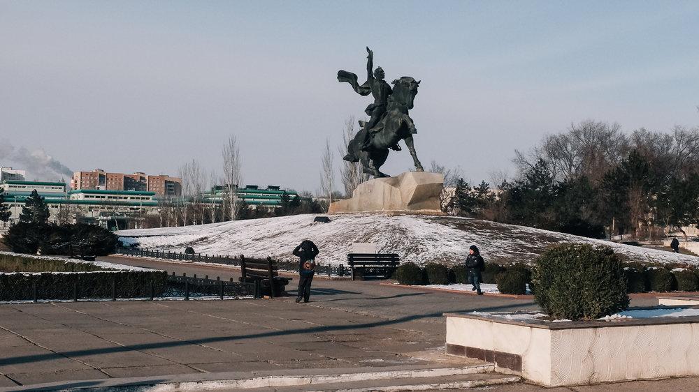 Το άγαλμα του Σουβόροφ