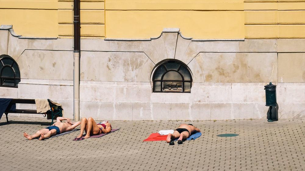 Εικόνα απ' τα λουτρά Széchenyi