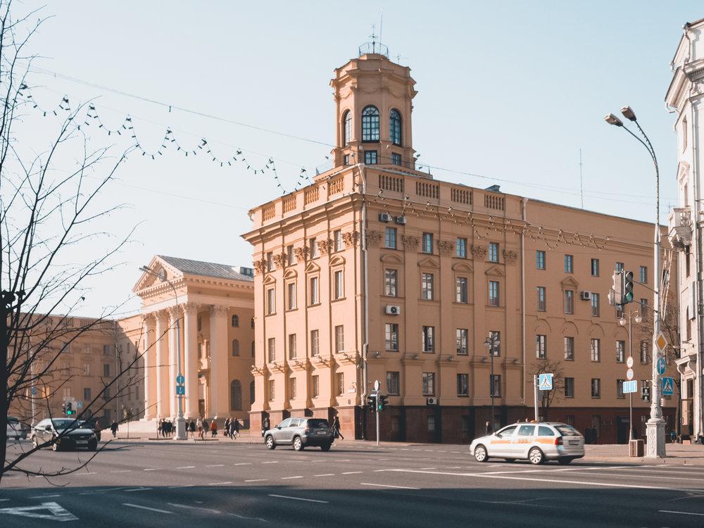 Το κτήριο της KGB στο Μινσκ