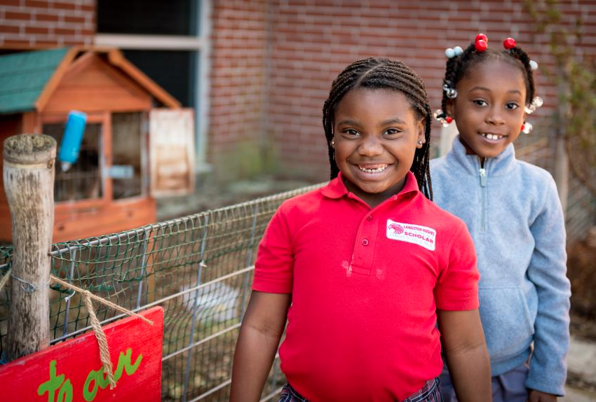 USDA Food and Nutrition Service, USDA Farm to School Grantee:  Firstline Schools, Inc. / Edible Schoolyard New Orleans, Louisiana