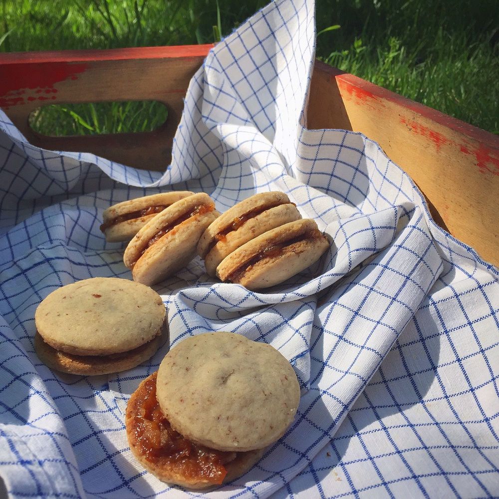 Pecan Sandies + Housemade Peach Jam