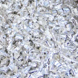 Don't throw money away! Shown here: silver turnings a customer sent to Specialty Metals to be recycled and refined profitably.