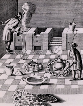 17th Century engraving showing the process of smelting and refining gold. We've come a long way since then at Specialty Metals!