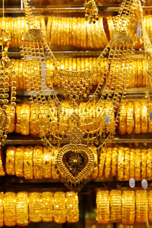Photo of gold jewelry which is in increasing demand in India, raising the prices you can get for recycling your gold at Specialty Metals.
