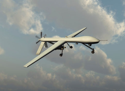 Photo of a Predator Drone, which uses precious metals for its onboard computers and circuitry, creating increased demand that can be filled by recycling your precous metals at Specialty Metals Smelters and Refiners.