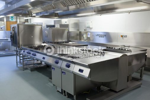 Photo of modern restaurant kitchen filled with equipment that uses platinum thermocouples that can be recycled profitably by Specialty Metals, Credit: Wavebreak Media/Thinkstock.