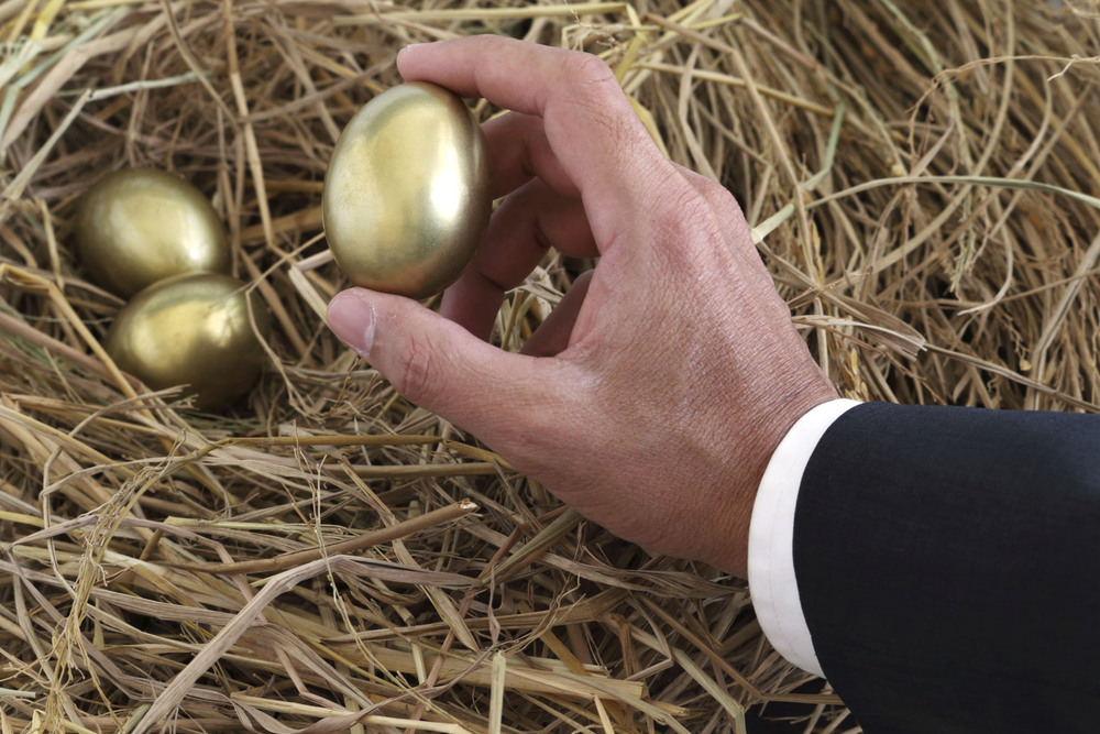 Think of your Specialty Metals Pool Account like the golden eggs in this photo: ready and waiting for you when precious metal prices rebound. Credit: Pixify/iStock/Thinkstock.