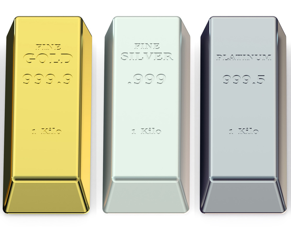 Is 2015 the year you invest in Gold, platinum and silver bullion? Image Credit: AlexLMX/iStock.