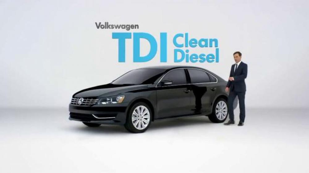 Photo of 2015 Volkswagen Passat TDI Clean Diesel. Credit: Volkswagen.