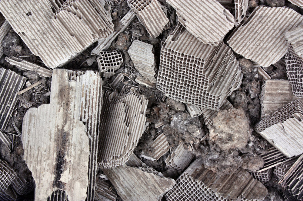 Shown: scrap from the inside of Catalytic Converters, containing platinum, palladium and rhodium, which Specialty Metals accepts for recycling in minimum lots of 500 units. Credit: Adam88xx/iStock.