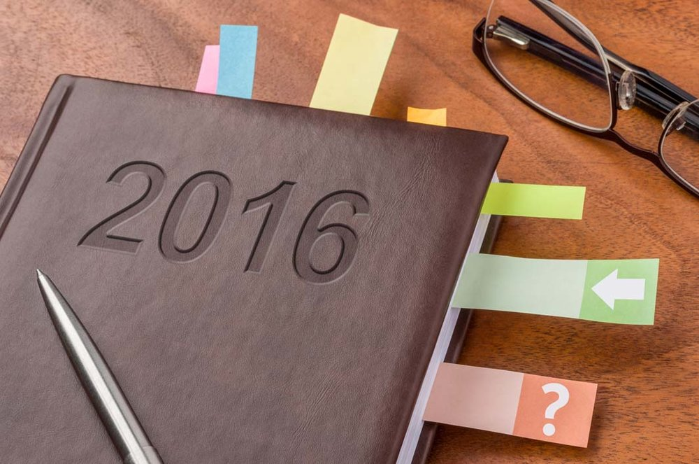 Photo of 2016 notebook for our guide to top Specialty Metals posts of 2016. Credit: Zerbor/iStock.