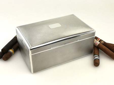 You're probably not going to find a sterling silver art deco cigar box like this just lying around… but if you do, give Specialty Metals a call. Image credit: Michael Sedler Antiques Ltd.