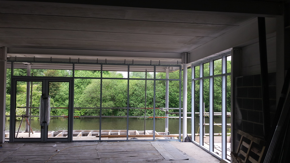 Curtain Walling Thermowood Cladding