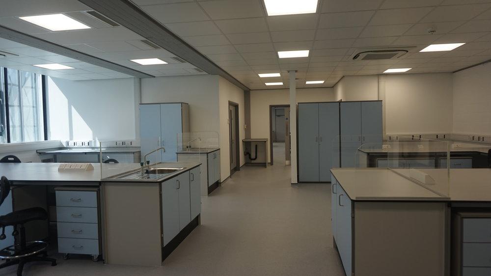Laboratory 2 and the Bio Hazard Work space