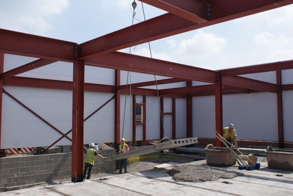 Pre-Cast Concrete Floor Installation - 1.JPG