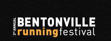 Bentonville Running Fest Logo