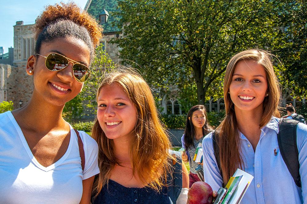 """Three BC Students at """"Healthapaloosa"""", 2015"""
