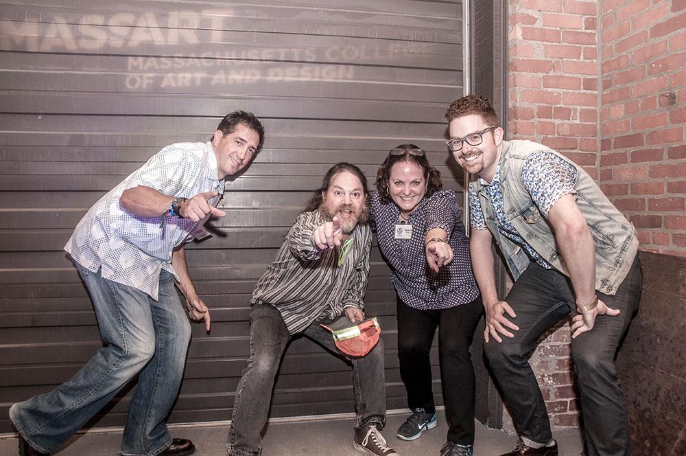 Mass Art 80's Reunion Organizers, 2015