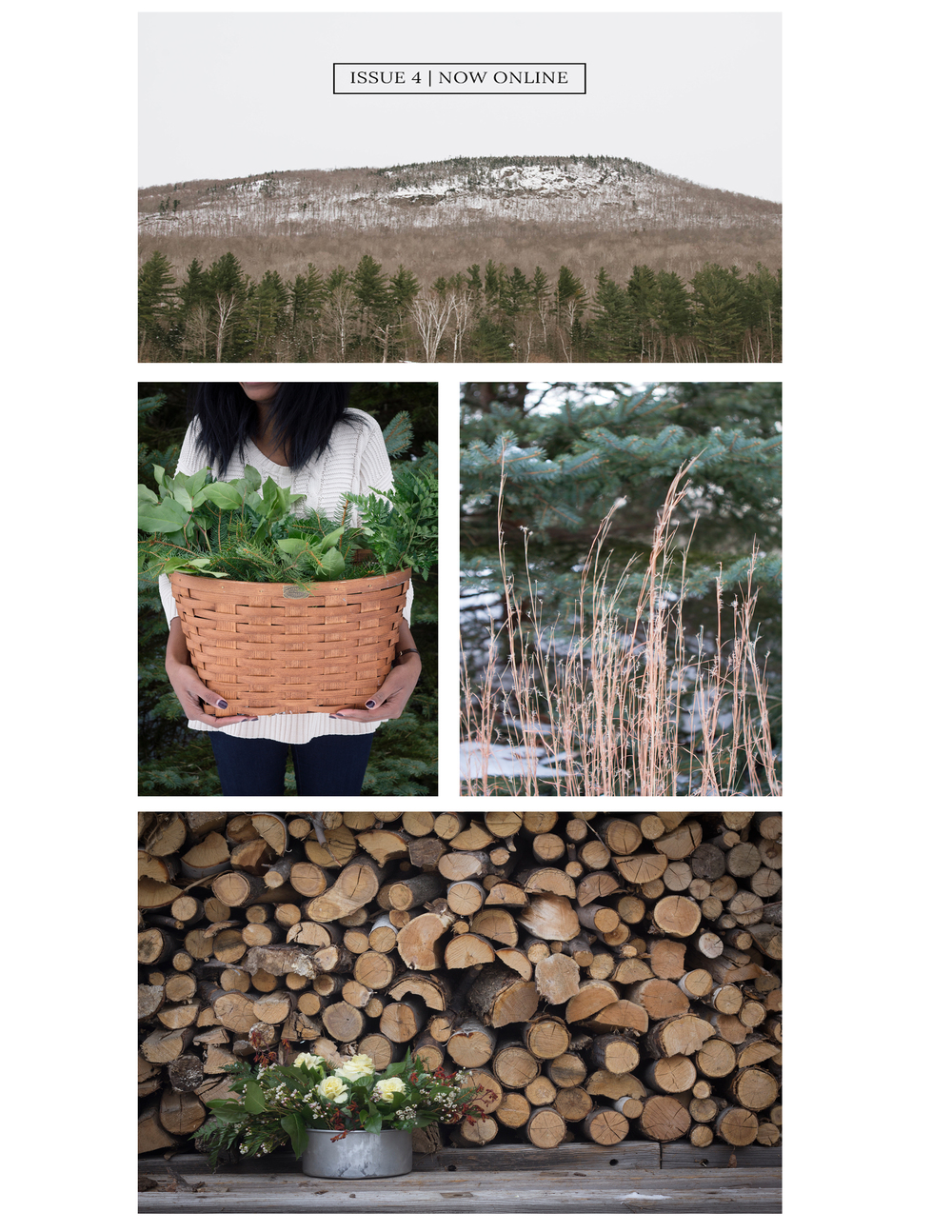 In January, t.e.l.l. New England asked me to do an evergreen story for their winter issue! It's unlike anything I'ver done but it has to be one of my favorite shoots thus far. Somerby Jones and I shot all the photos on her parent's land and I couldn't help but think they're living the New England dream--it doesn't get much better than a house tucked away in the woods. I could have stayed there forever. Thanks Somerby and t.e.l.l.! The issue is now available here! Photos by Somerby Jones