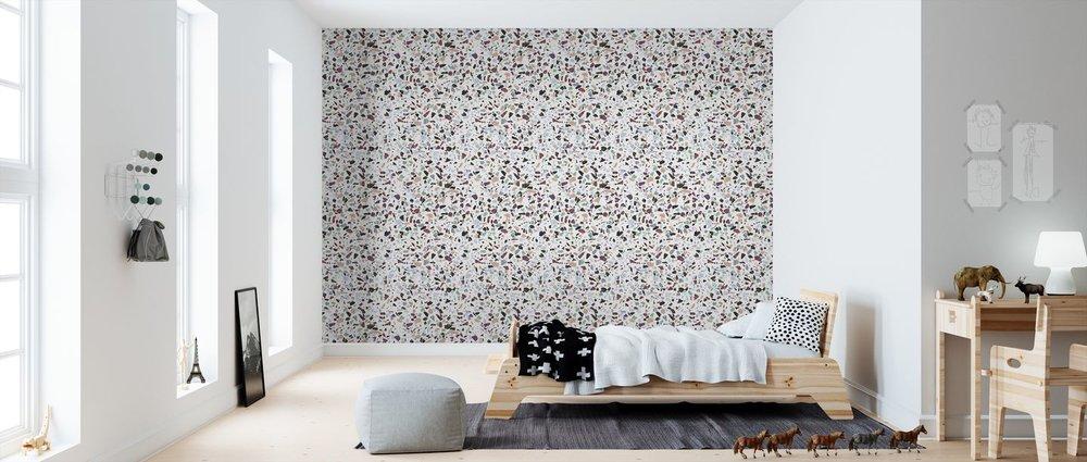 Holy Granite Terrazzo Wallpaper