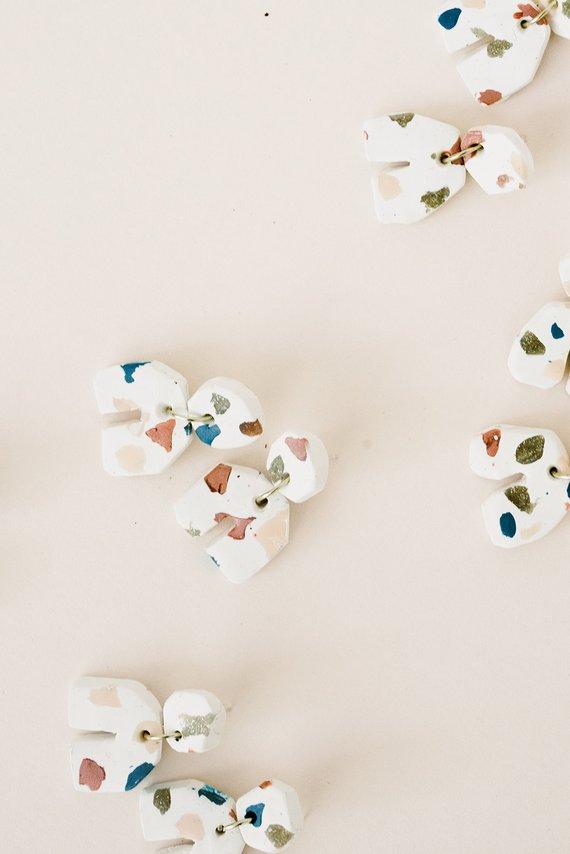 Terrazzo Earrings