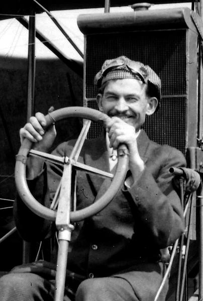 Everett pilot, Terah Maroney, gave Bill his first airplane ride.(Everett Public Library)